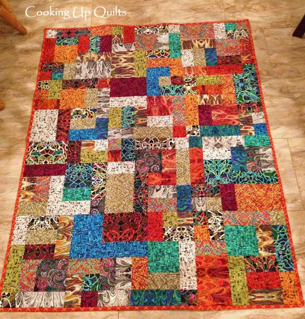 Scrappy Tiles pattern by Meadow Mist Designs