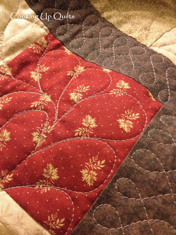 Feathers Quilting Design