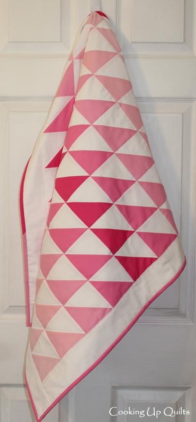 HST quilt, kona solids, robert kaufman