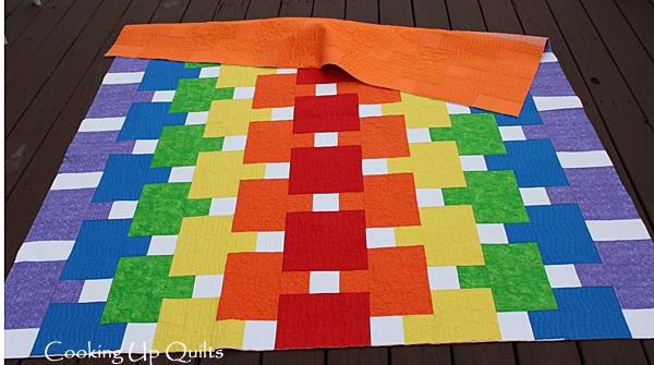 FMQ Hopscotch Rainbow Quilt