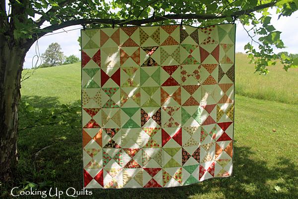 Timeless - An hourglass block quilt