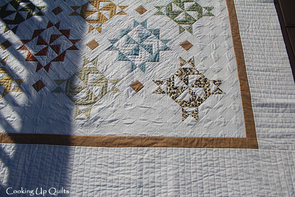 Ruler work in Quilting