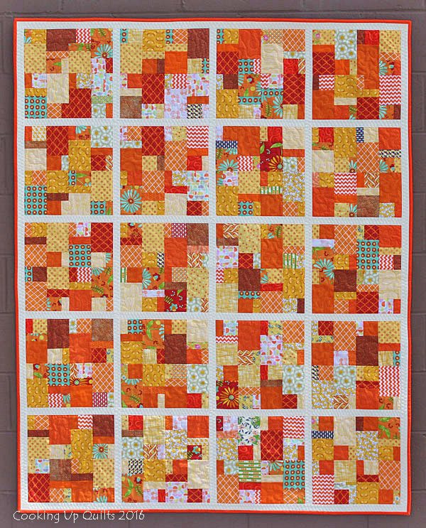 Scrambled Quilt - Tutorial for Block on Blog