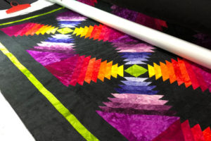 MCM #147: Completed blocks, Pineapple-licious Quilting, and Pie!